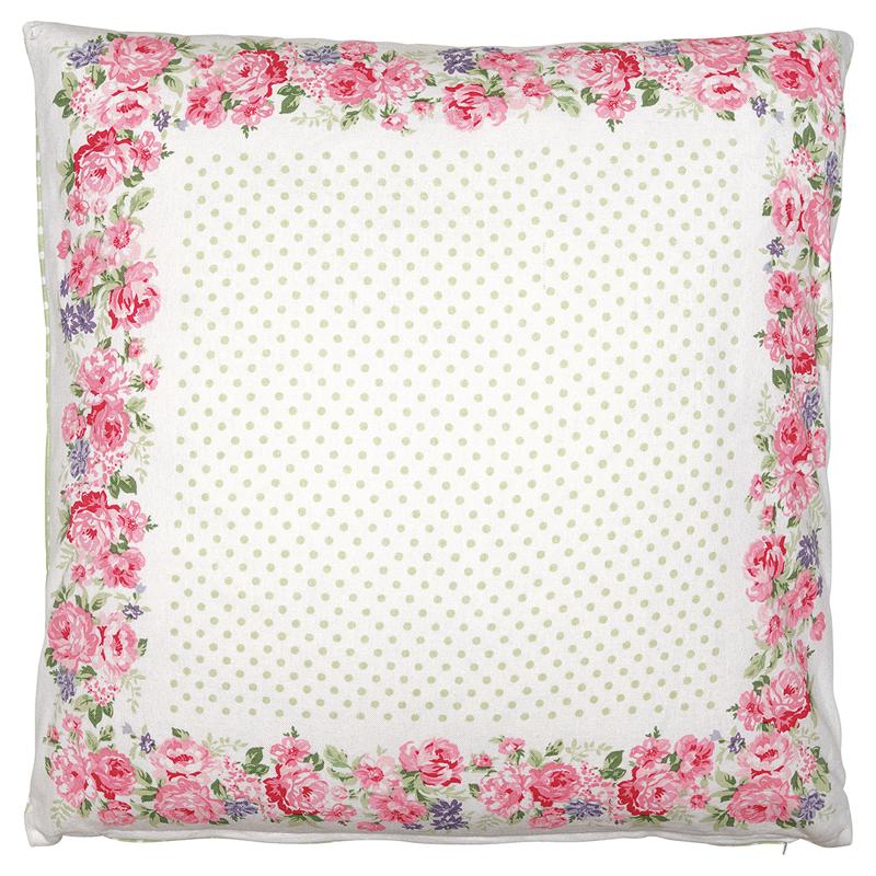 a13477x.jpg - Kuddfodral Rose, White piece printed - Elsashem Butiken med det lilla extra...