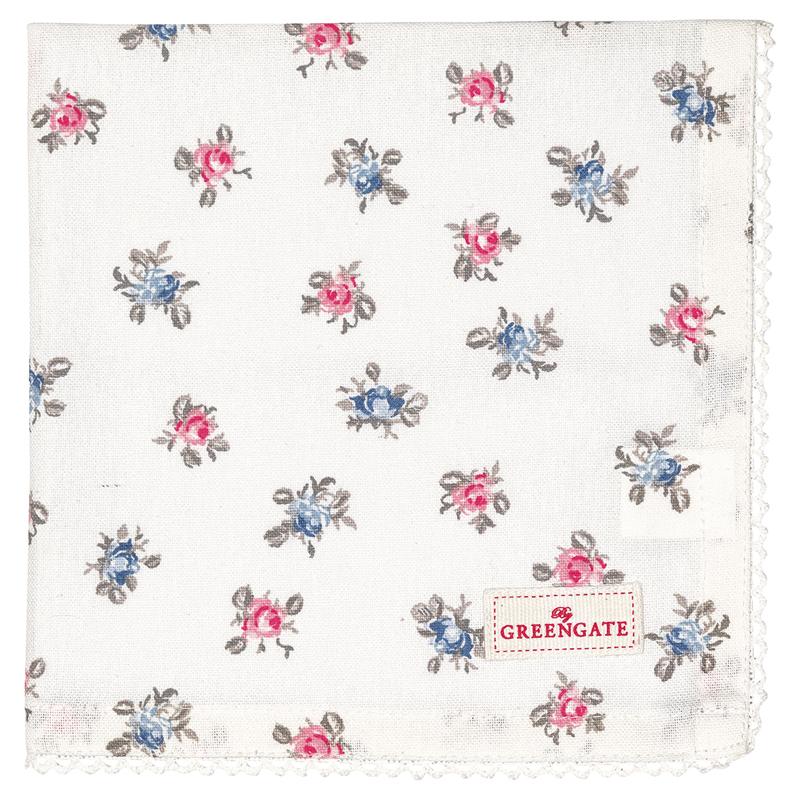 a13494x.jpg - Servett Hailey, Petit white - Elsashem Butiken med det lilla extra...