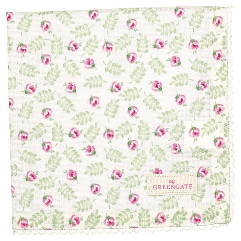 a13496x.jpg - Servett Lily, Petit white - Elsashem Butiken med det lilla extra...