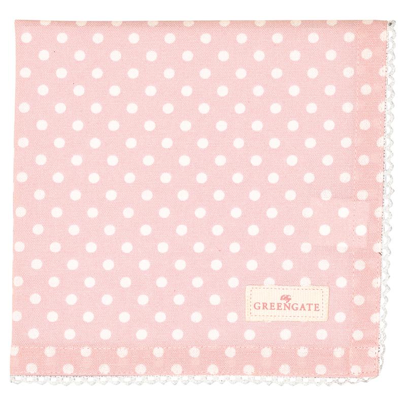 a13503x.jpg - Servett Spot, Pale pink - Elsashem Butiken med det lilla extra...