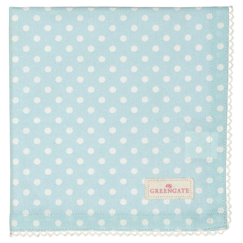 a13504x.jpg - Servett Spot, Pale blue - Elsashem Butiken med det lilla extra...