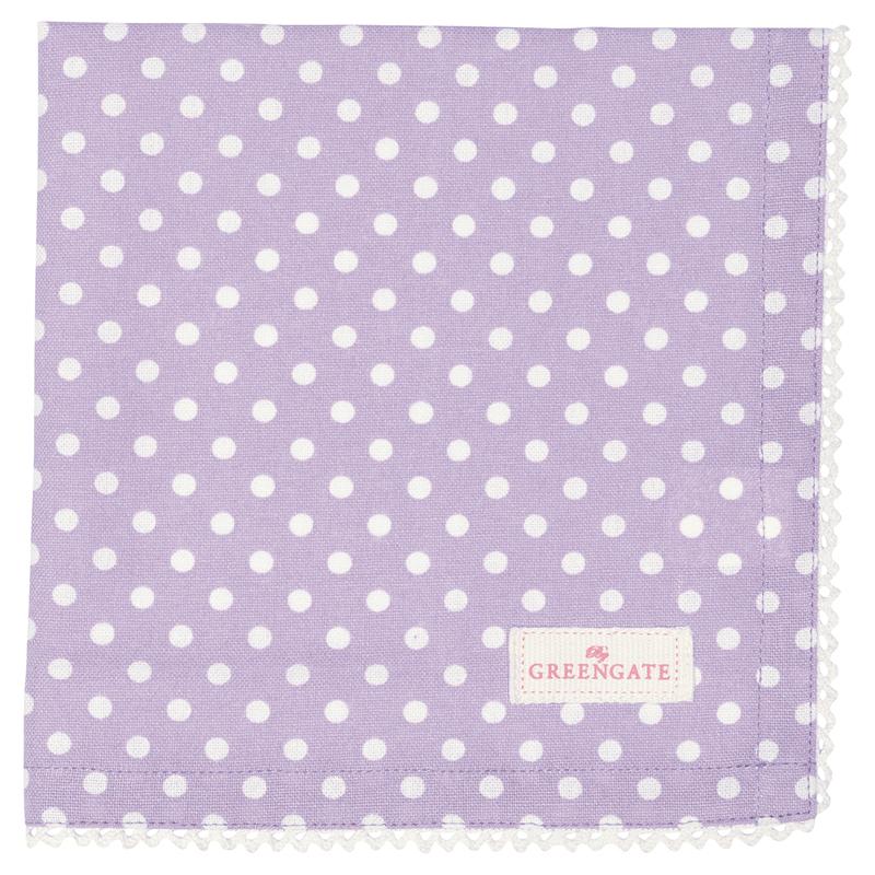 a13506x.jpg - Servett Spot, Lavendar - Elsashem Butiken med det lilla extra...