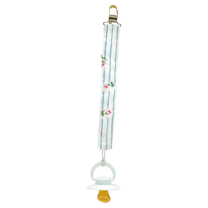 a13508x.jpg - Pacifier string Lily, Petit white - Elsashem Butiken med det lilla extra...