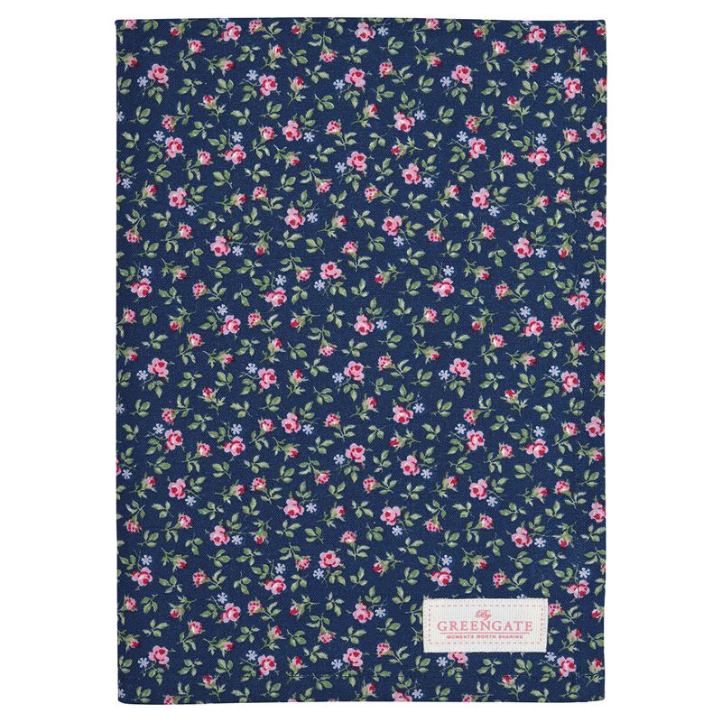 a13535x.jpg - Kökshandduk Berta, Dark blue - Elsashem Butiken med det lilla extra...