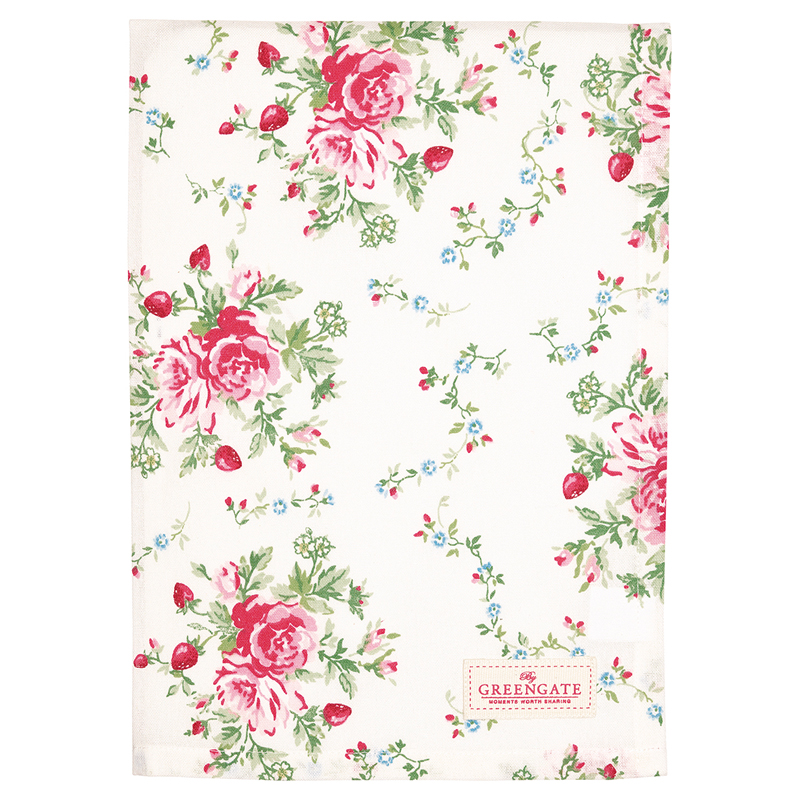 a13545x.jpg - Kökshandduk Mary, White - Elsashem Butiken med det lilla extra...