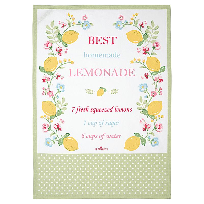 a13547x.jpg - Kökshandduk Limona, White piece printed - Elsashem Butiken med det lilla extra...