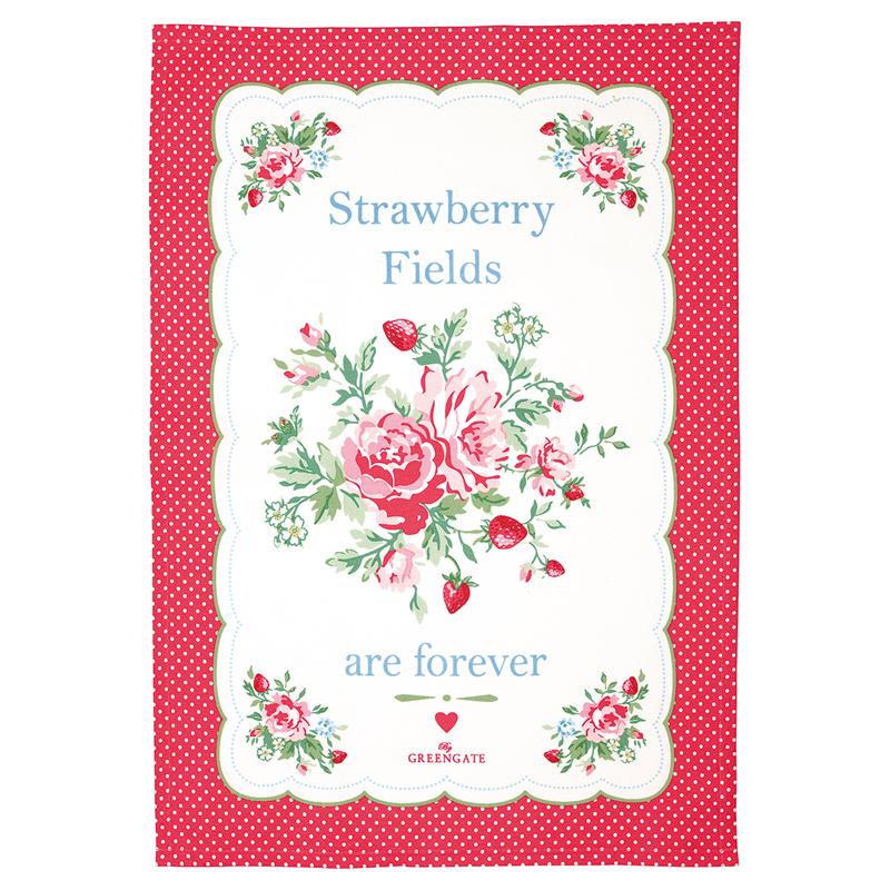 a13548x.jpg - Kökshandduk Mary, White price printed - Elsashem Butiken med det lilla extra...