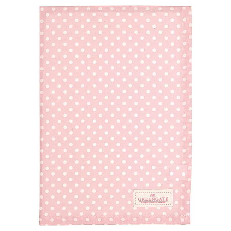 a13551x.jpg - Kökshandduk Spot, Pale pink - Elsashem Butiken med det lilla extra...