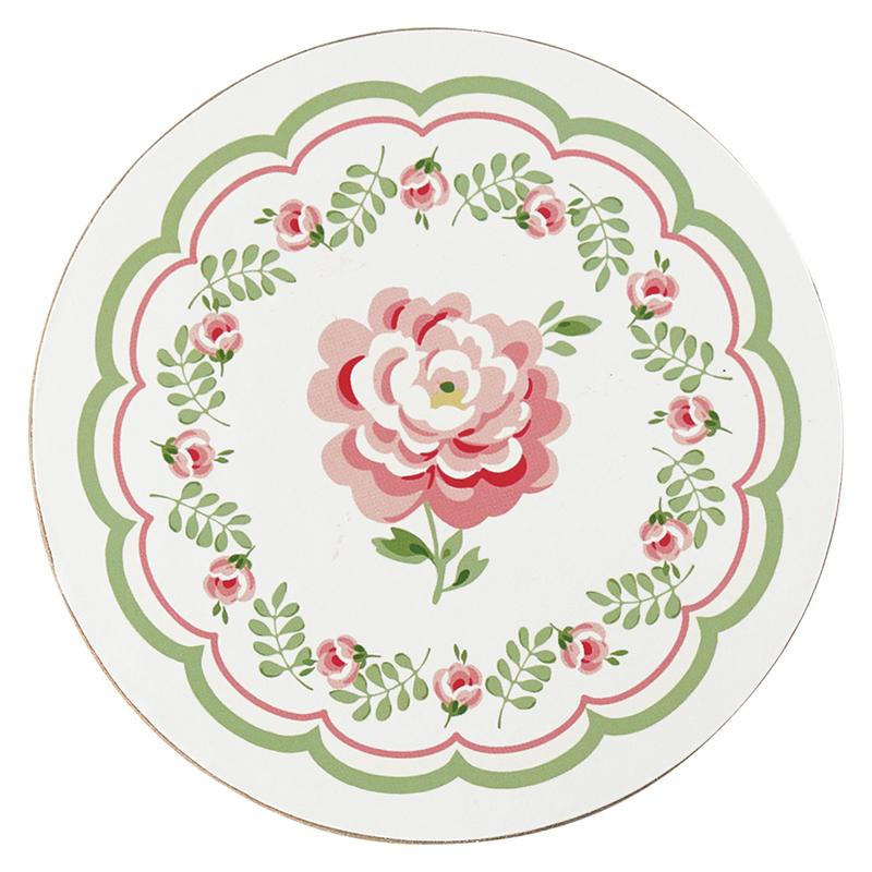 a13559x.jpg - Coaster Lily, Petit white - Elsashem Butiken med det lilla extra...