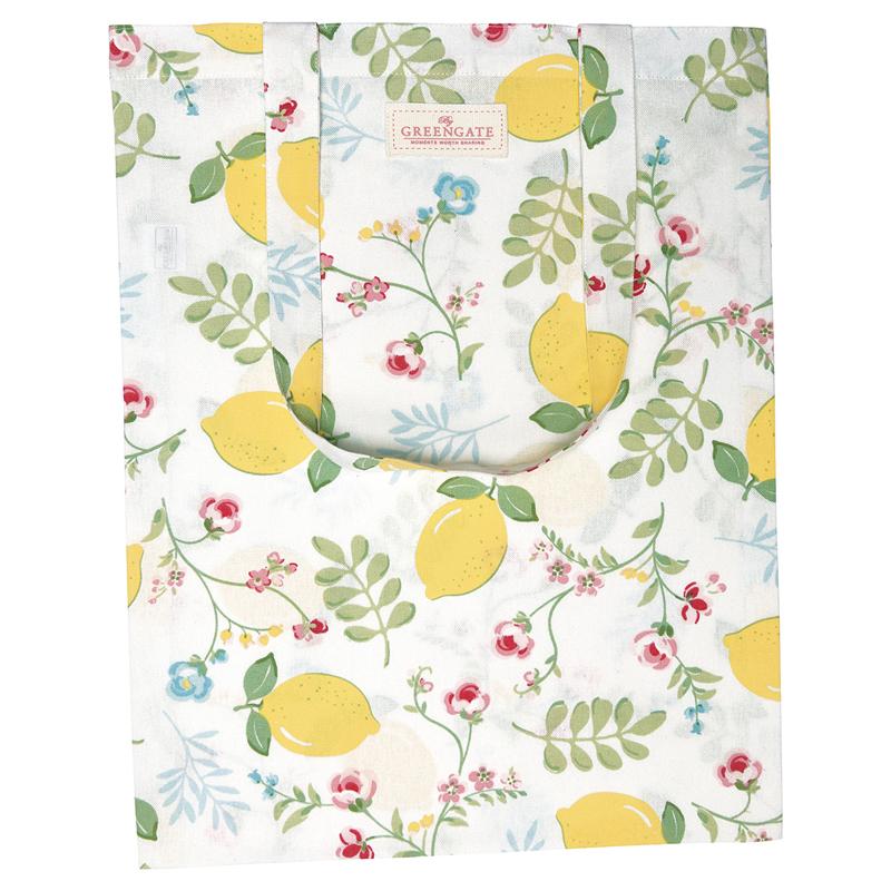 a13563x.jpg - Bag cotton Limona, White - Elsashem Butiken med det lilla extra...