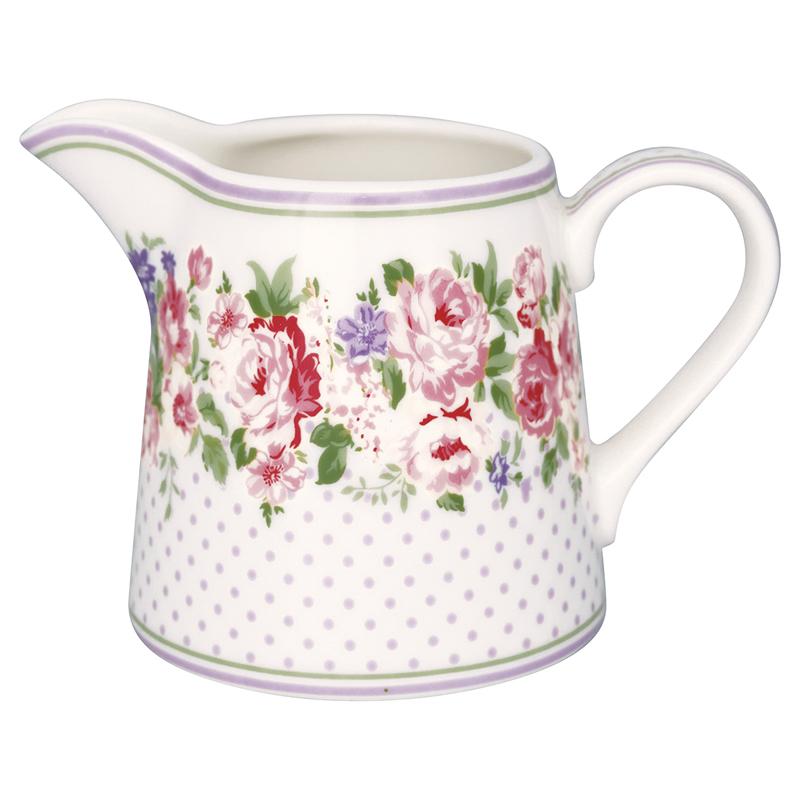 a13570x.jpg - Gräddkanna Rose, White - Elsashem Butiken med det lilla extra...