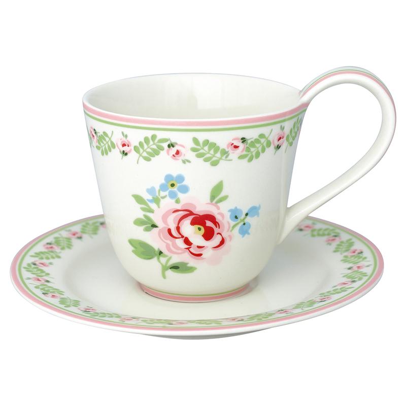 a13571x.jpg - Kopp med fat Lily, Petit white - Elsashem Butiken med det lilla extra...