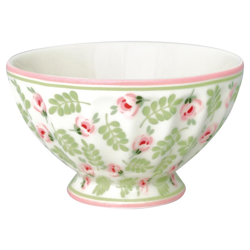 a13581x.jpg - Skål Lily, Petit white medium - Elsashem Butiken med det lilla extra...