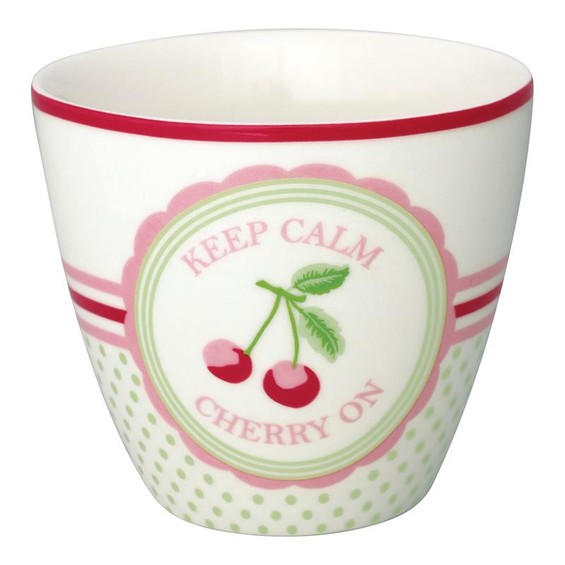 a13595x.jpg - Lattemugg Cherry mega, White - Elsashem Butiken med det lilla extra...