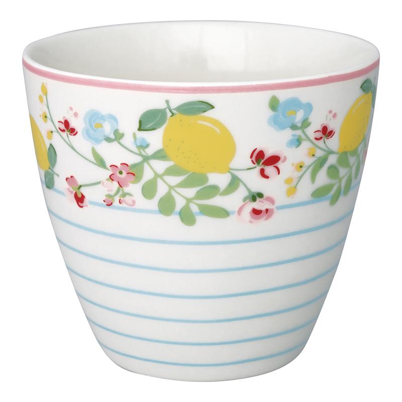 a13597x.jpg - Lattemugg Limona, White - Elsashem Butiken med det lilla extra...