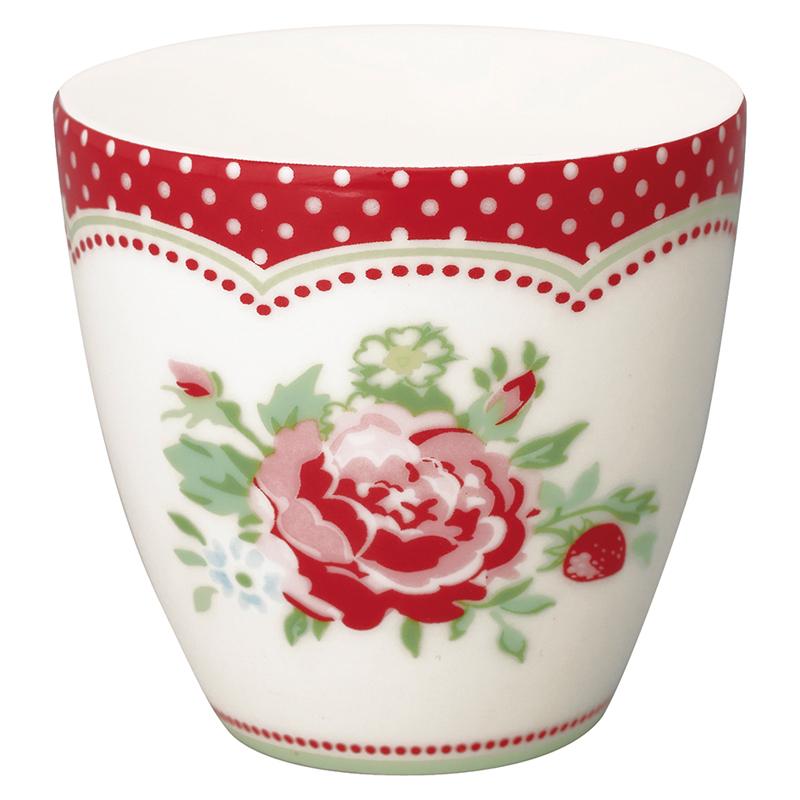 a13603x.jpg - Mini lattemugg Mary, White - Elsashem Butiken med det lilla extra...