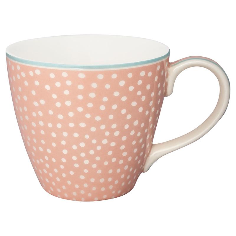 a13604x.jpg - Mugg Dot, Peach - Elsashem Butiken med det lilla extra...
