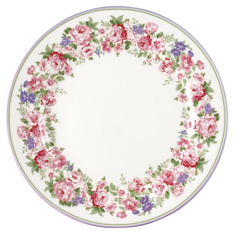 a13609x.jpg - Assiett Rose, White - Elsashem Butiken med det lilla extra...