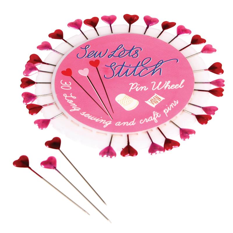 a13638x.jpg - Hjärformade nålar, 30 st - Elsashem Butiken med det lilla extra...
