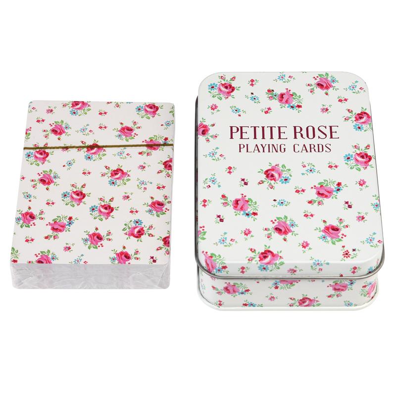 a13655x.jpg - Kortlek i plåtburk, La Petite Rose - Elsashem Butiken med det lilla extra...