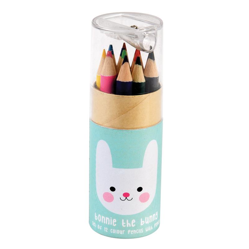 a13664x.jpg - Färgpennor i tub, Bonnie the Bunny - Elsashem Butiken med det lilla extra...