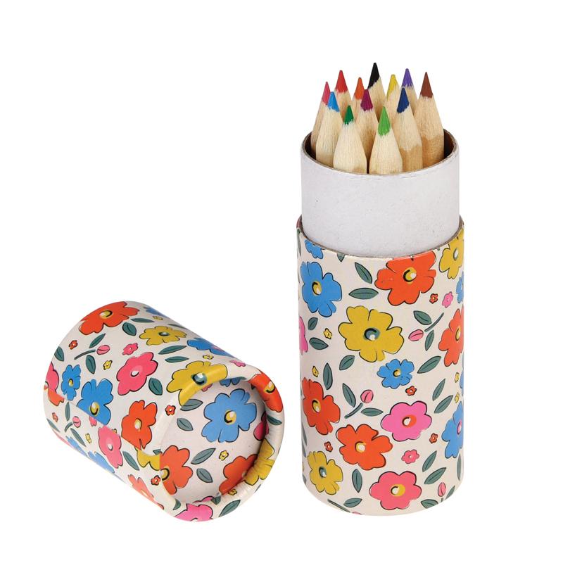 a13665x.jpg - Färgpennor i tub, Floral maze - Elsashem Butiken med det lilla extra...