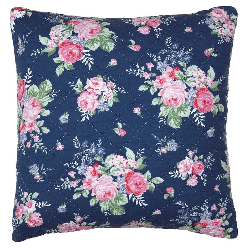 a13690x.jpg - Kuddfodral Rose, Dark blue - Elsashem Butiken med det lilla extra...