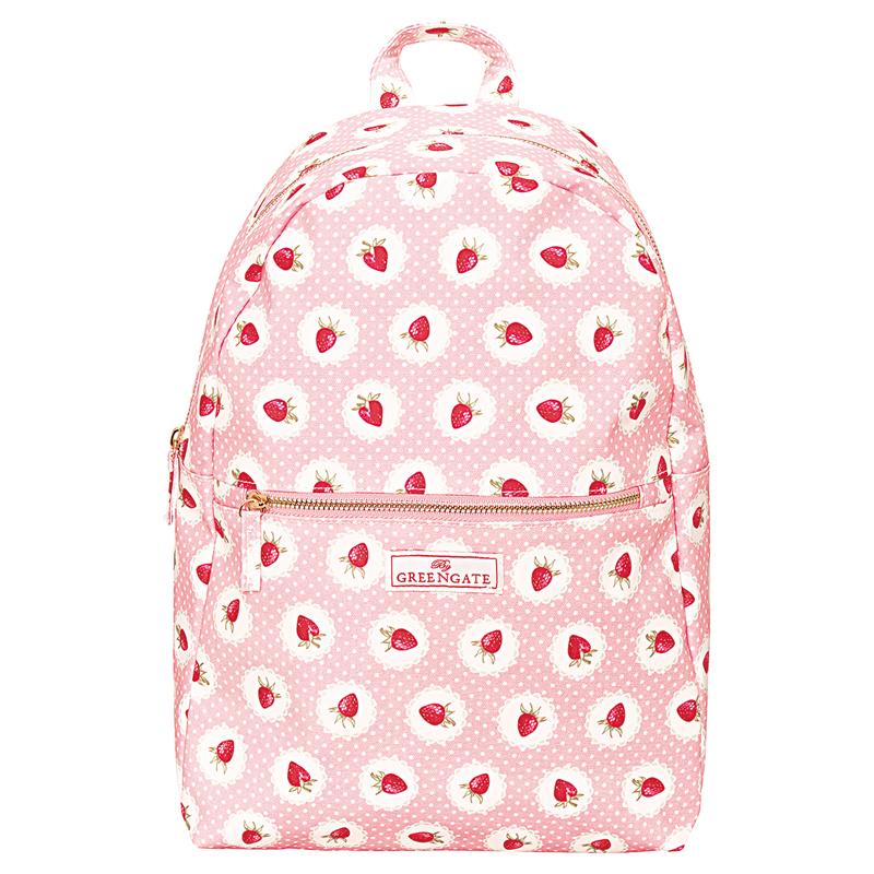 a13702x.jpg - Ryggsäck Strawberry, Pale pink - Elsashem Butiken med det lilla extra...