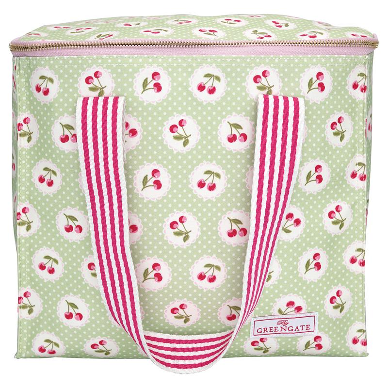 a13710x.jpg - Kylväska Cherry berry, Pale green - Elsashem Butiken med det lilla extra...