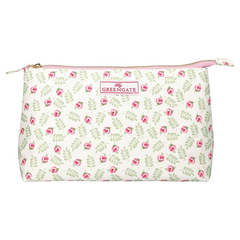 a13713x.jpg - Stor sminkväska Lily, Petit white - Elsashem Butiken med det lilla extra...