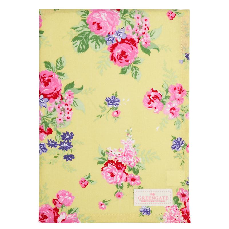 a13734x.jpg - Kökshandduk Rose, Pale yellow - Elsashem Butiken med det lilla extra...
