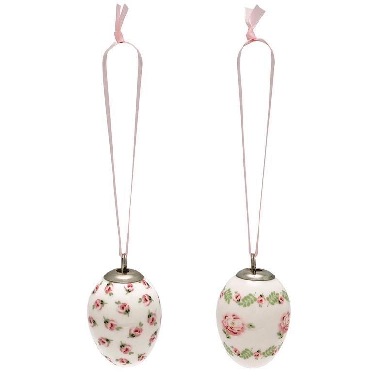 a13740x.jpg - Decorative egg Lily, Petit white set of 2 hanging - Elsashem Butiken med det lilla extra...