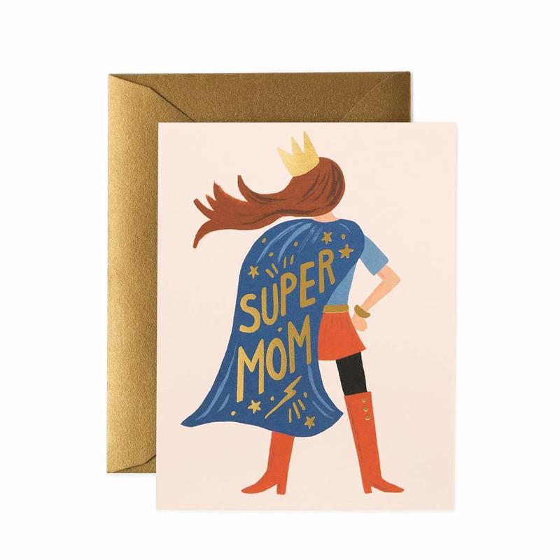 a13746x.jpg - Kort med kuvert, Super Mom - Elsashem Butiken med det lilla extra...