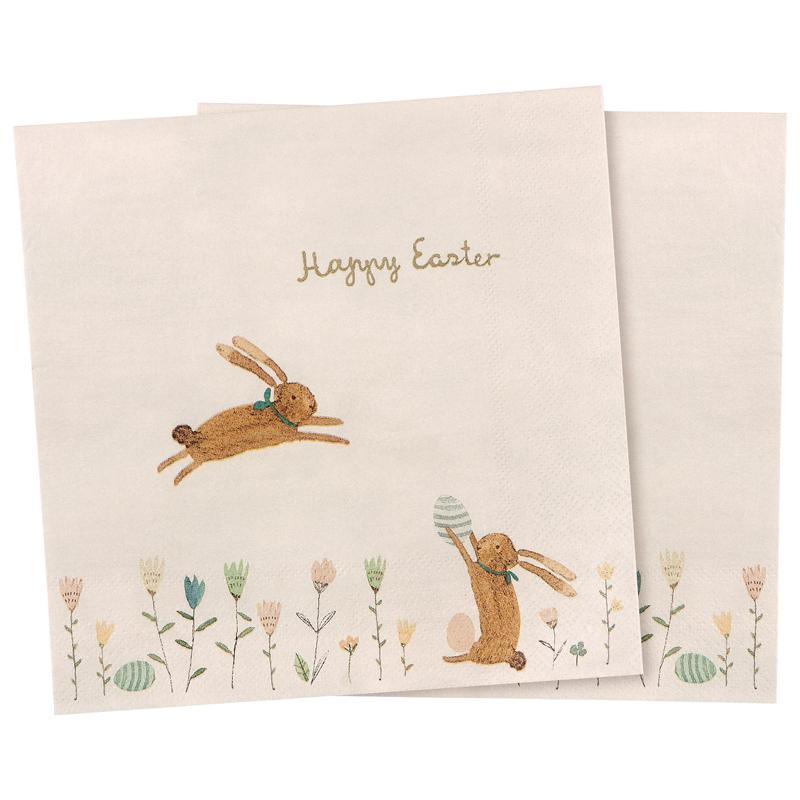 a13763x.jpg - Servetter, Happy Easter field - Elsashem Butiken med det lilla extra...