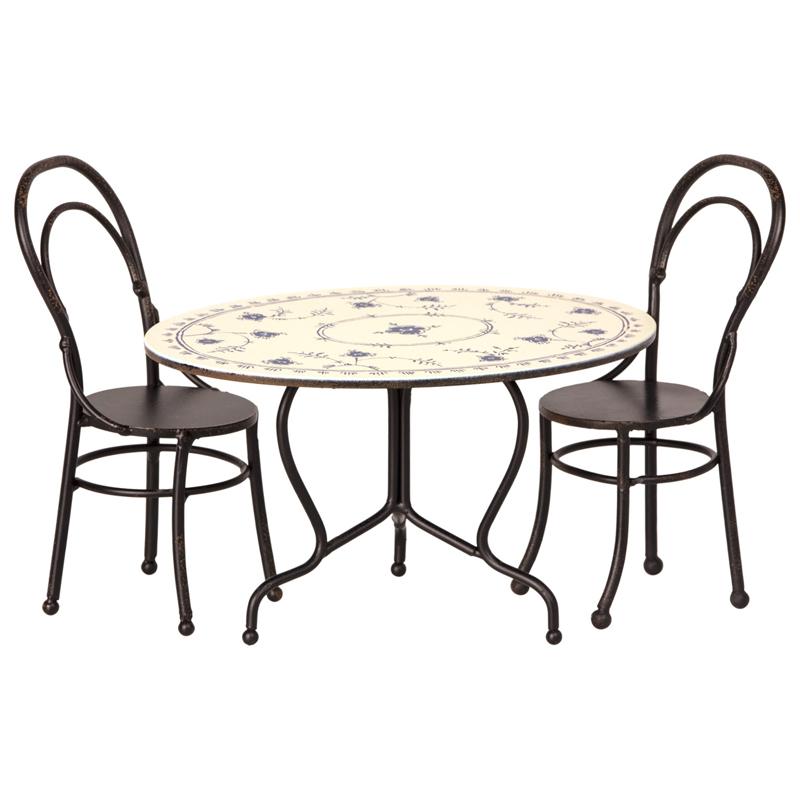 a13773x.jpg - Set med bord och 2 stolar, Mini - Elsashem Butiken med det lilla extra...