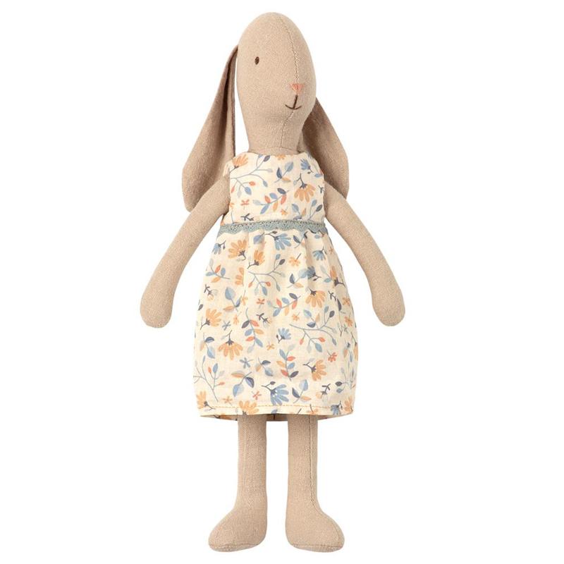 a13796x.jpg - Bunny size 2, Flower dress - Elsashem Butiken med det lilla extra...