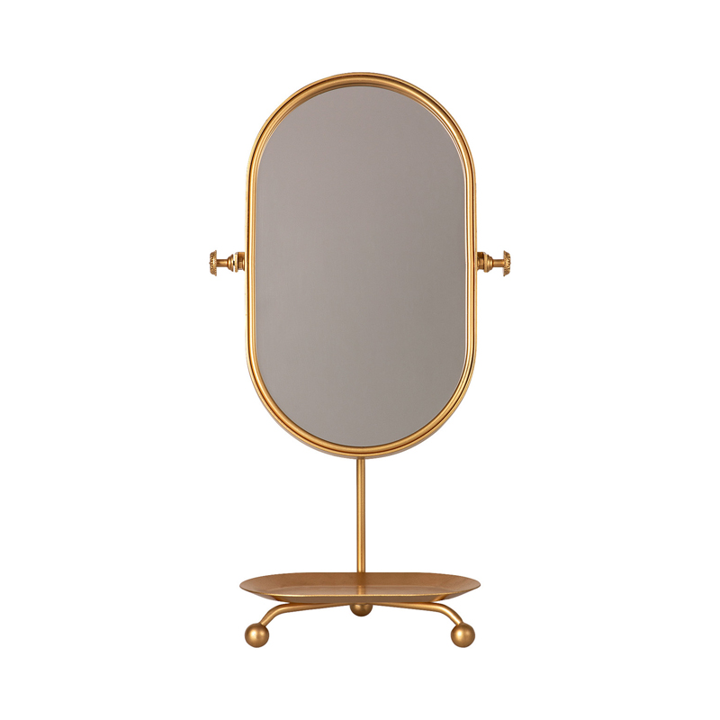 a13814x.jpg - Table mirror, Gold - Elsashem Butiken med det lilla extra...