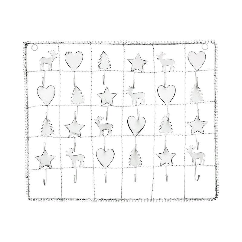 a13833x.jpg - Advent calendar, White - Elsashem Butiken med det lilla extra...