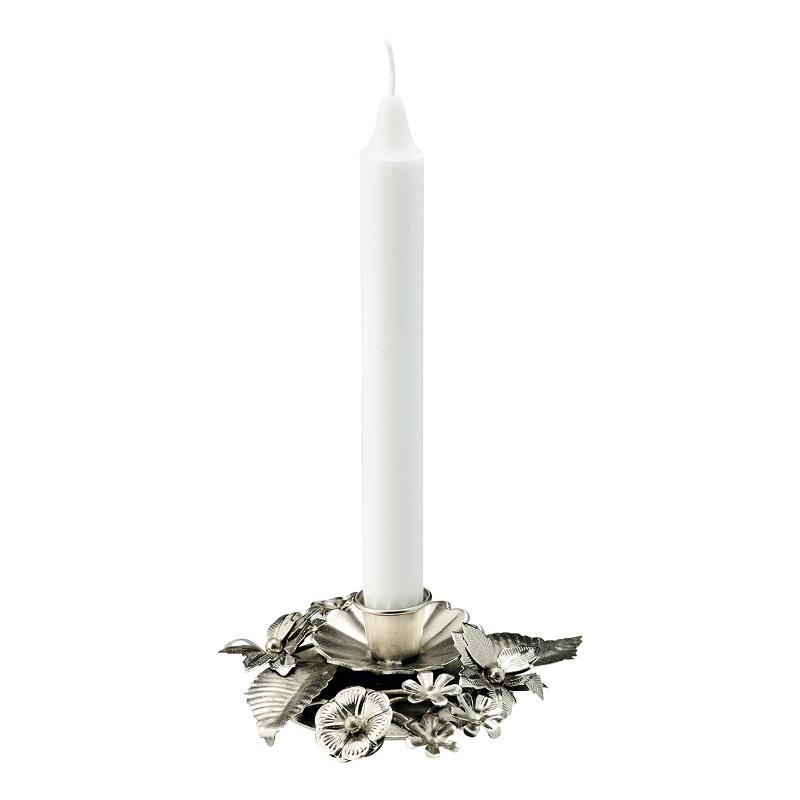 a13834x.jpg - Candle holder, Silver - Elsashem Butiken med det lilla extra...