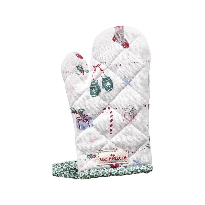 a13853x.jpg - Grillvante till barn Jingle bell, White - Elsashem Butiken med det lilla extra...