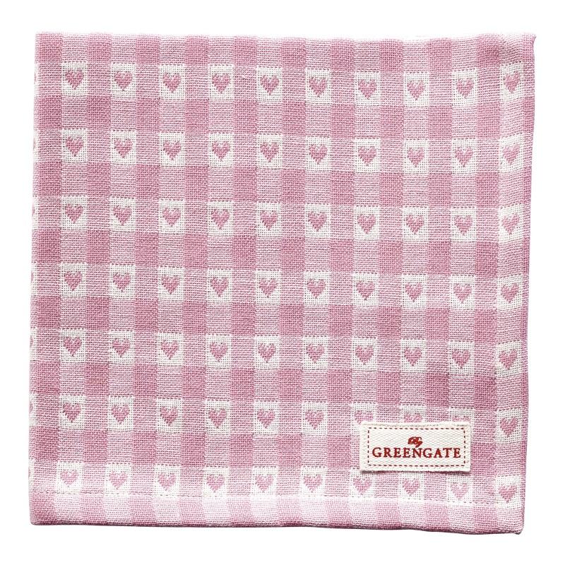 a13877x.jpg - Servett Heart petit, Pale pink - Elsashem Butiken med det lilla extra...