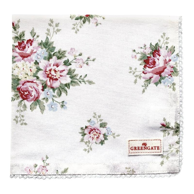 a13880x.jpg - Servett Aurelia, White - Elsashem Butiken med det lilla extra...