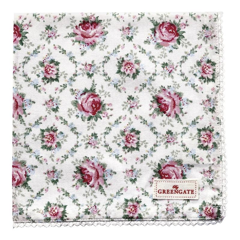 a13885x.jpg - Servett Malene, Petit white - Elsashem Butiken med det lilla extra...