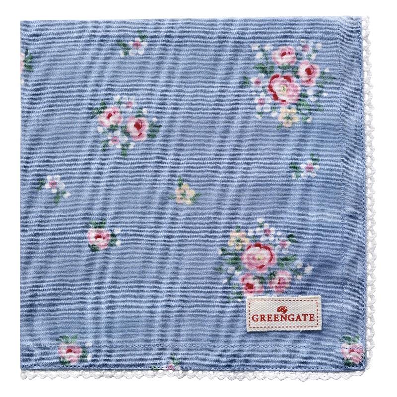 a13887x.jpg - Servett Nicoline, Dusty blue - Elsashem Butiken med det lilla extra...