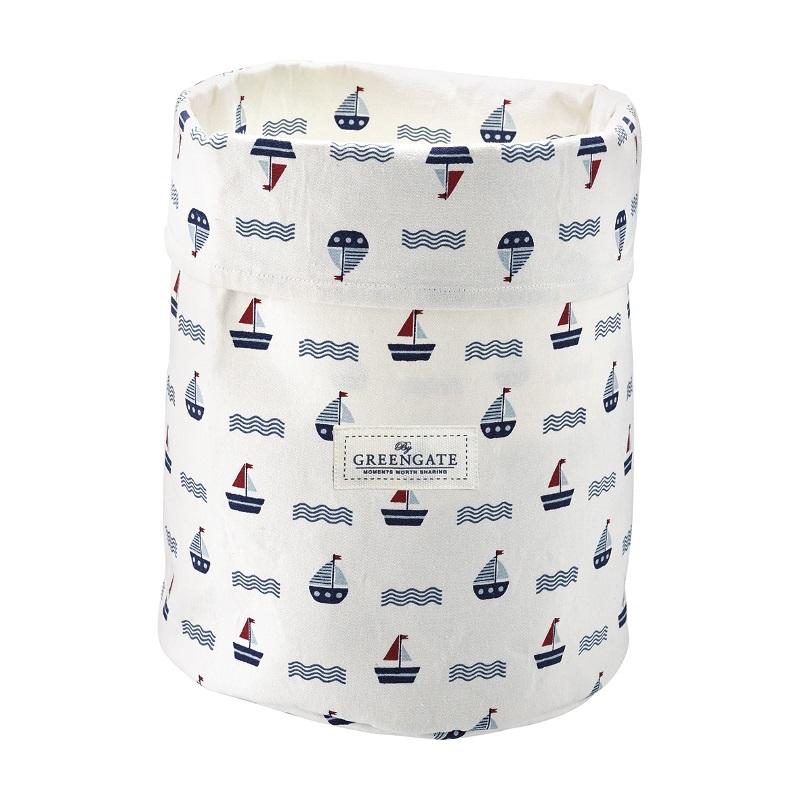 a13900x.jpg - Storage bag Noah, White medium - Elsashem Butiken med det lilla extra...