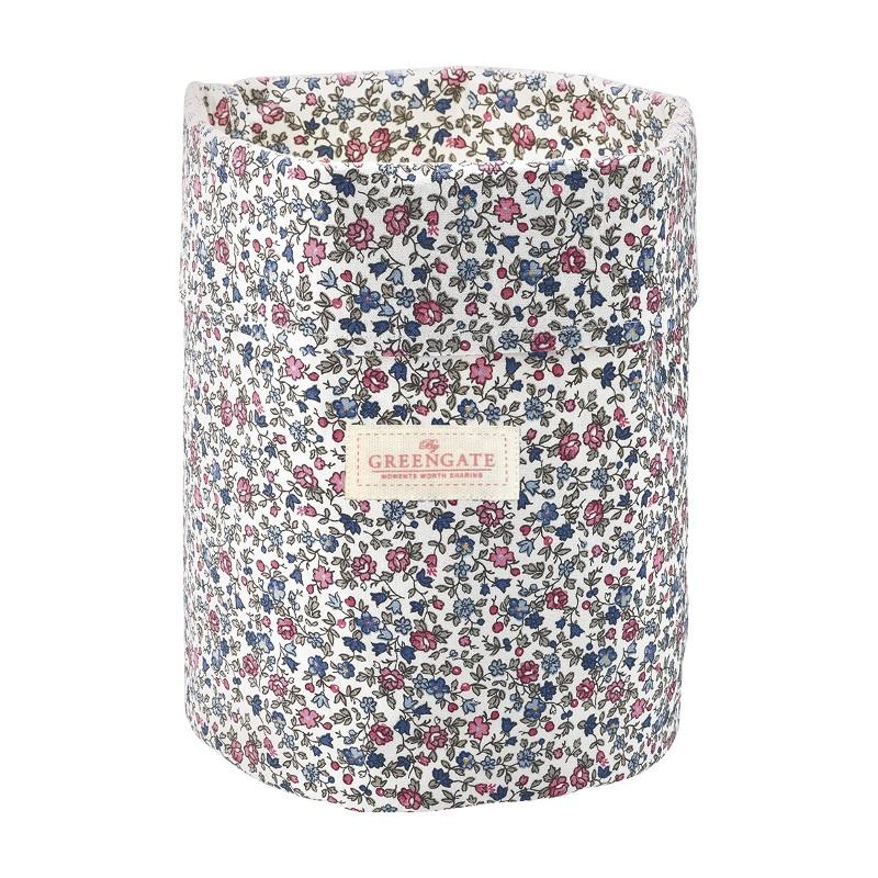 a13901x.jpg - Storage bag Ruby, Petit white medium - Elsashem Butiken med det lilla extra...