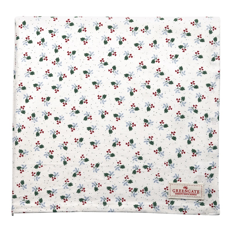 a13909x.jpg - Duk Joselyn, White 150 x 150 cm - Elsashem Butiken med det lilla extra...