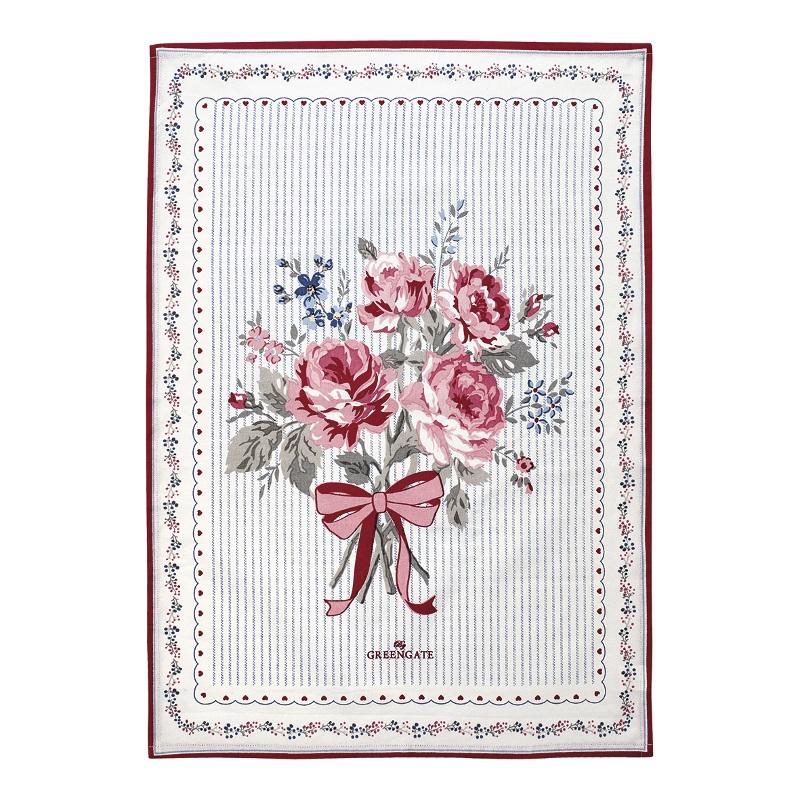 a13938x.jpg - Kökshandduk Elisabeth, White pieceprinted - Elsashem Butiken med det lilla extra...