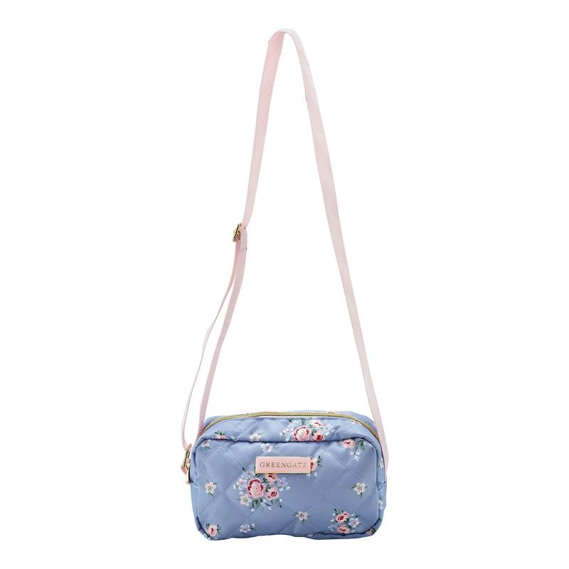 a13946x.jpg - Crossbody bag Nicoline, Dusty blue - Elsashem Butiken med det lilla extra...