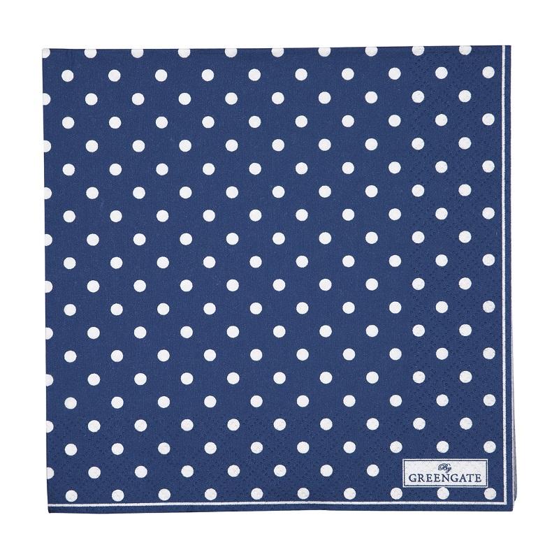 a13953x.jpg - Servetter Spot, Blue - Elsashem Butiken med det lilla extra...